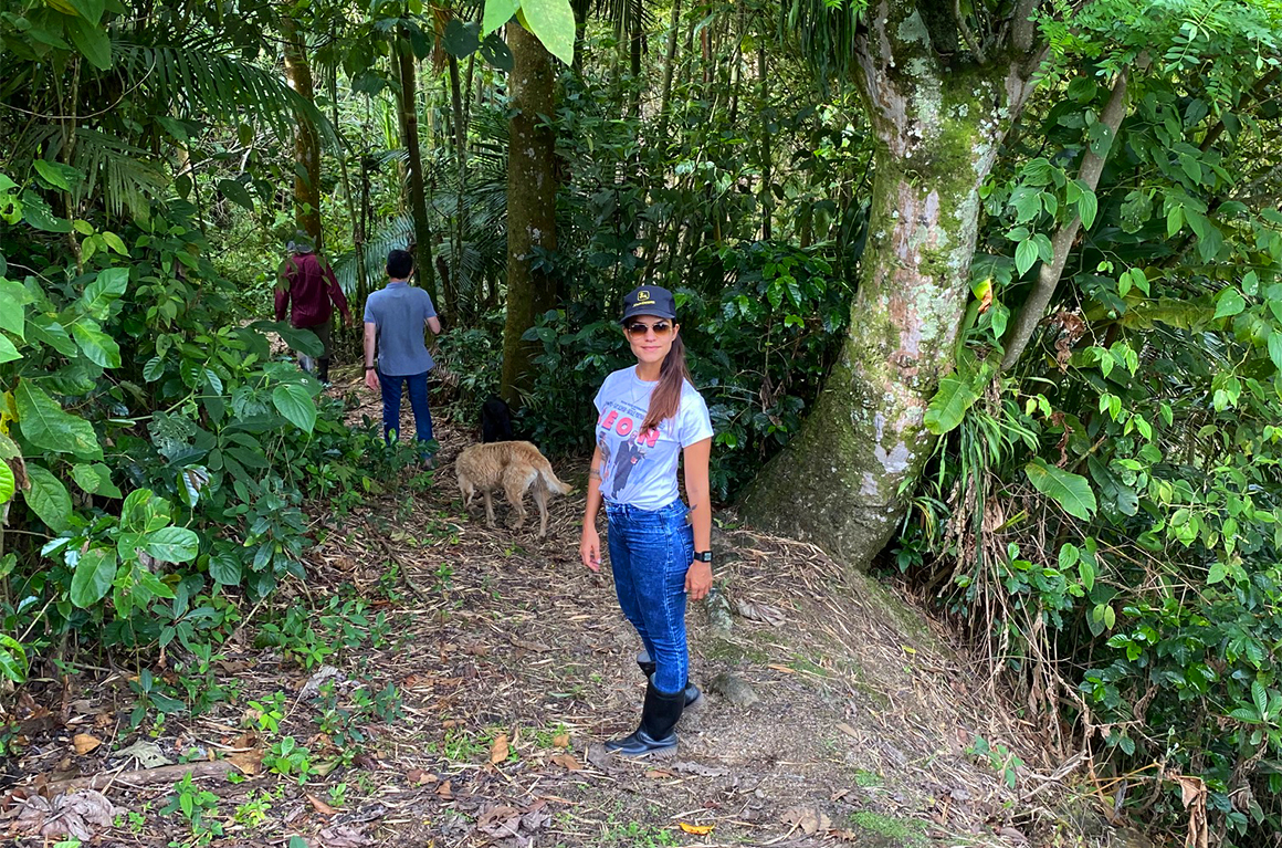 Juliana Veléz Kolumbien Finca Guayacanes